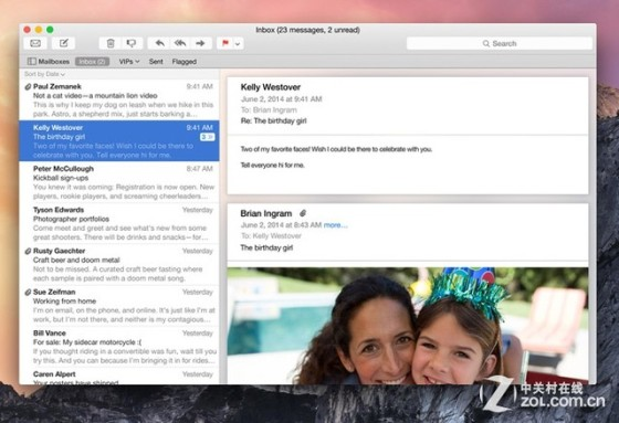 OS X Yosemite最值得升级的六个新特性