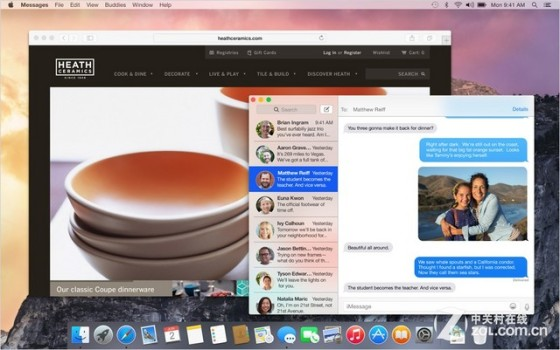 OS X Yosemite最值得升级的五个新特性